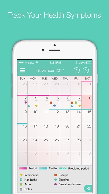 My Cycles Period and Ovulation Tracker screenshot-3