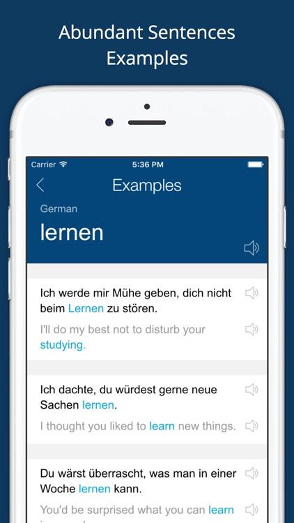 German English Dictionary + screenshot-3