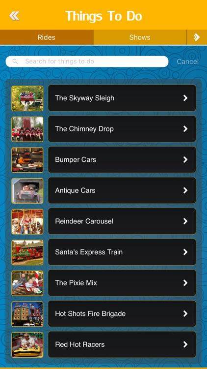 Best App for Santa's Village Theme Park
