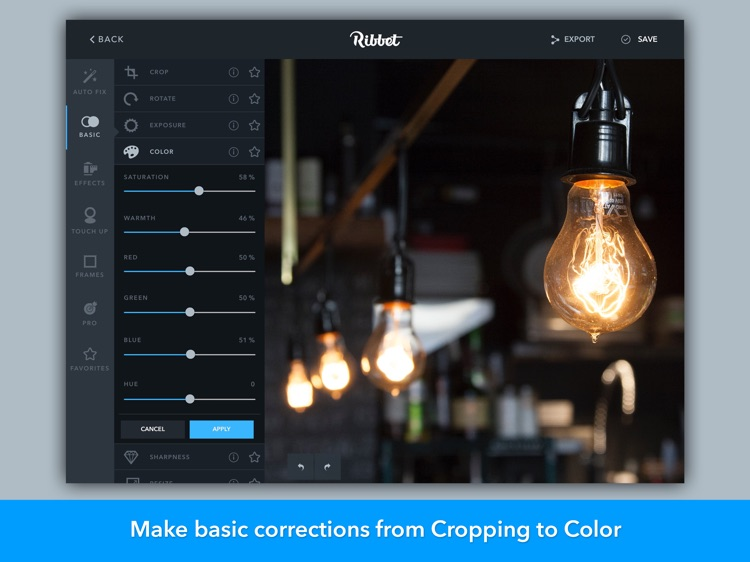 Ribbet - Photo Editor, Collage Maker, Text Editor