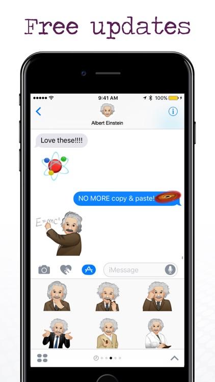EinsteinMoji ™ by Albert Einstein screenshot-3