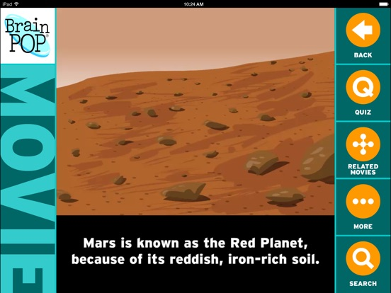 BrainPOP Featured Movie iPad