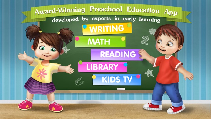 Kindergarten math & reading learning kids games Screenshot