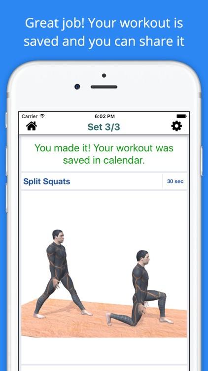 11 min Knee Pain Relief Workout Challenge Free screenshot-3