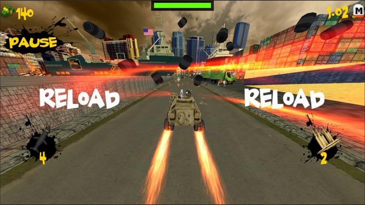 Crazy Tank Racing 3D screenshot-3