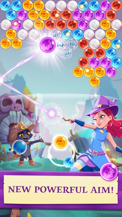 Bubble Witch 3 Saga screenshot-0