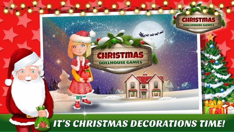 Christmas Doll House Games 3D: My Home Design.er screenshot-2