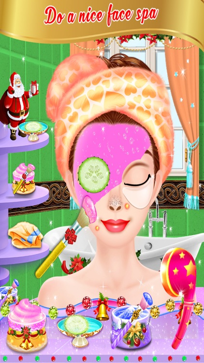 Christmas Party Makeover Salon - girls games