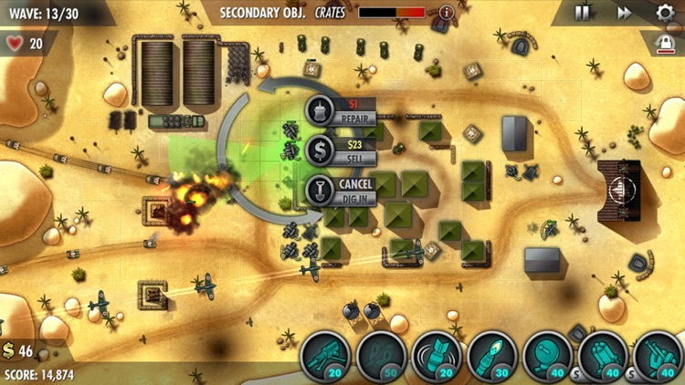iBomber Defense Pacific screenshot-0