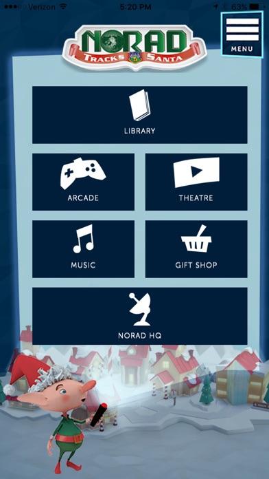 NORAD Tracks Santa Claus Screenshot on iOS