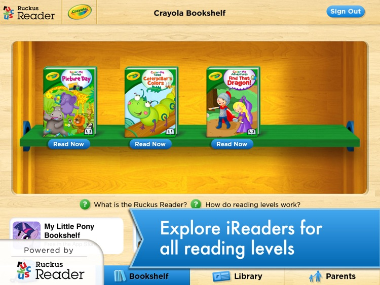 Crayola: Ruckus Reader screenshot-4