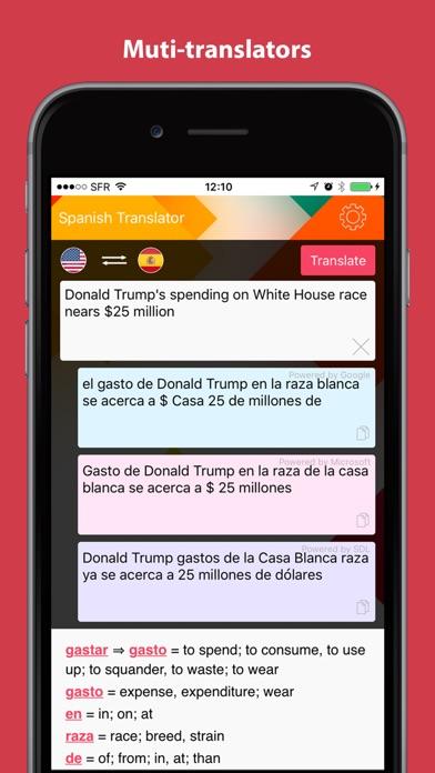 Screenshot #3 for English to Spanish Translator.