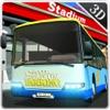 サッカースタジアムの駐車場 - 大都市におけるメガ車の運転免許試験シミュレータ