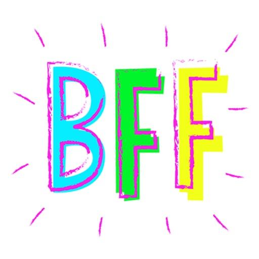 Stickers: BFF