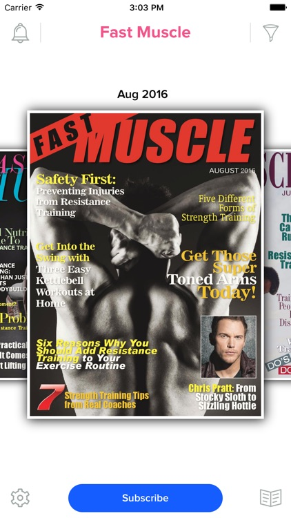 Fast Muscle Magazine screenshot-0