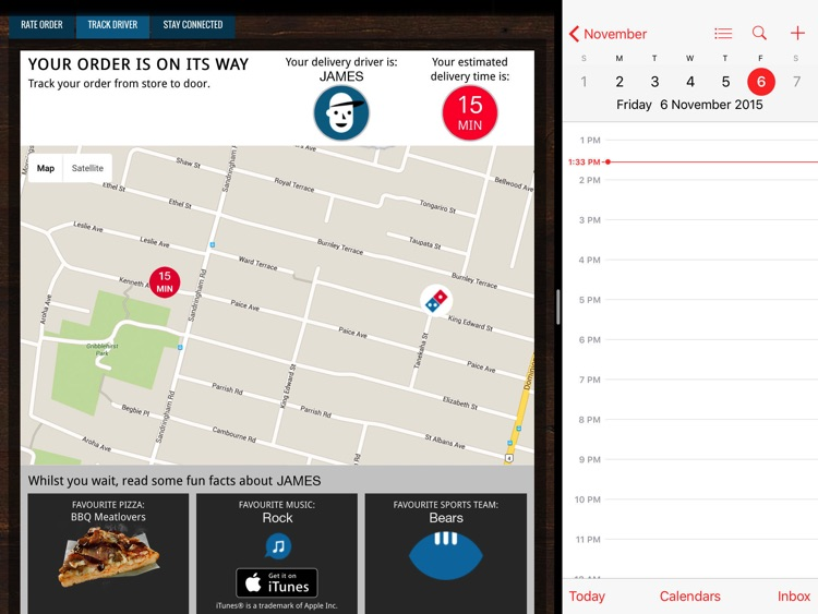 Domino's for iPad screenshot-4