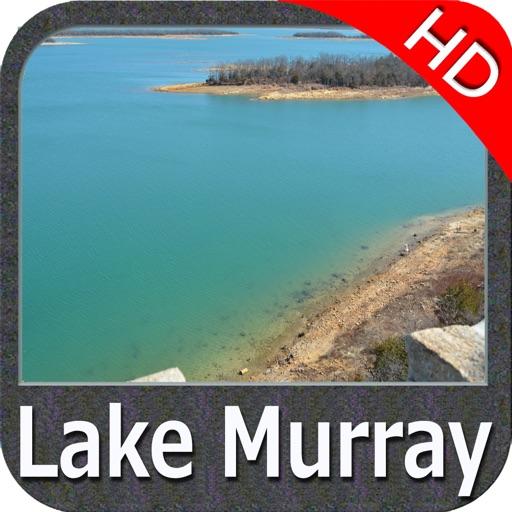 Lake Murray South Carolina HD - GPS fishing chart