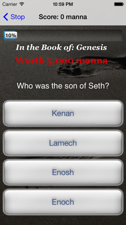 Biblicious Bible Trivia screenshot-3