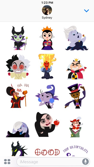 Disney Stickers: Villains Screenshot
