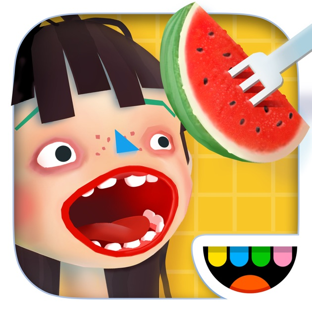 Toca kitchen 2 on the app store for Fish head app