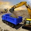 市ビルダー建設クレーンオペレーター3D:ドライブDumperのトラック&ショベルクレーン