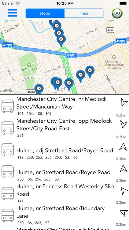 Manchester Public Transport screenshot-3