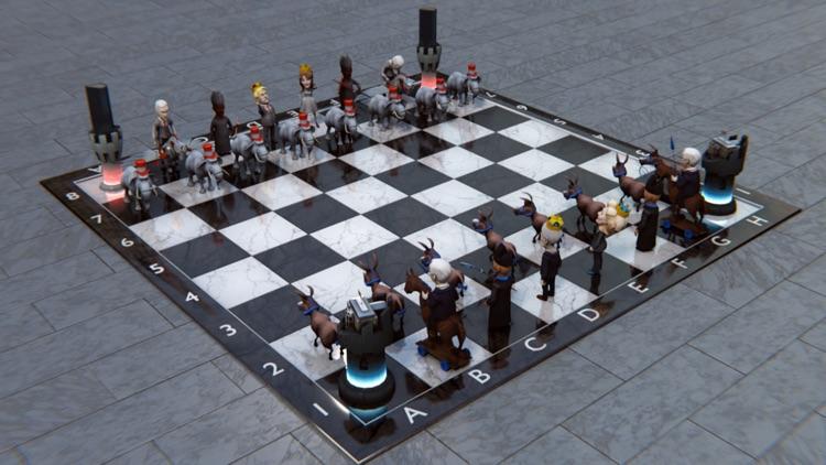 Political Chess 3D Pro screenshot-4