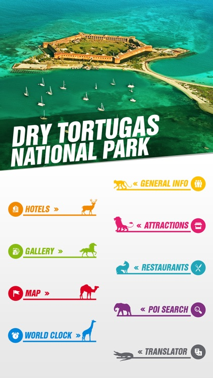 Dry Tortugas National Park Tourist Guide screenshot-1
