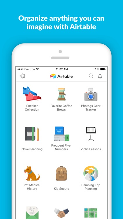 Airtable - Flexible database and organizer screenshot-0