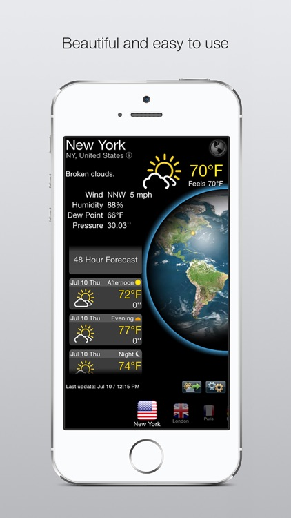 Real Weather Forecast screenshot-0