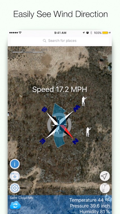 Wind Direction for Deer Hunting - Deer Windfinder screenshot-0