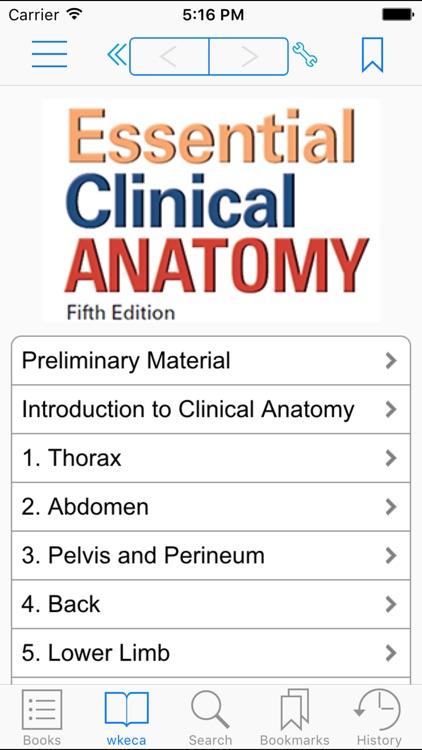 Essential Clinical Anatomy, Fifth Edition