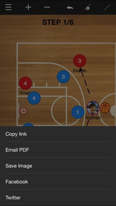 Basketball coach's clipboard Screenshot 4