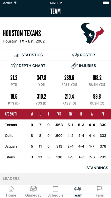 Houston Texans screenshot-3