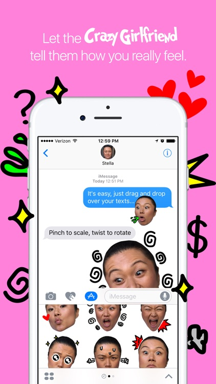 Crazy Girlfriend Sticker Pack