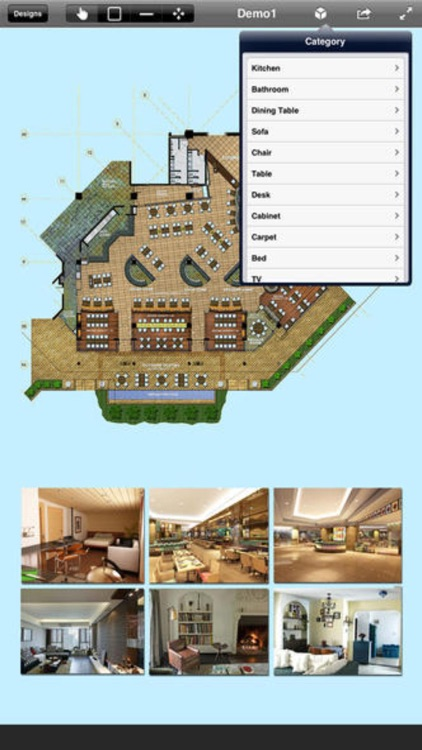 Interior Plan : 2D Home Design & Floor Plan