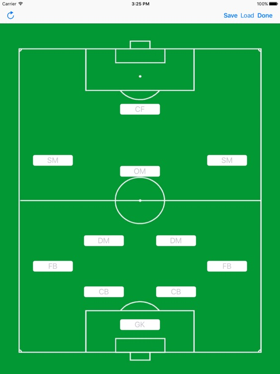 Soccer Formation Light screenshot-0