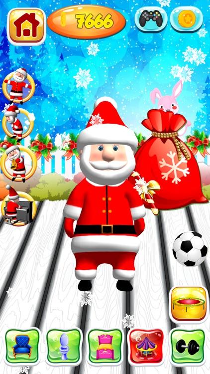 Talking Santa Claus Game screenshot-3