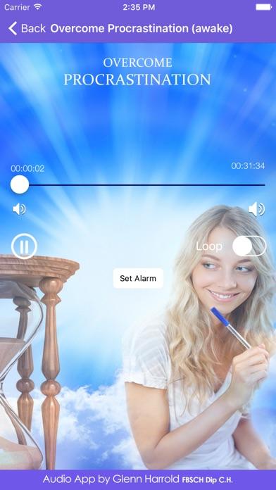 Overcome Procrastination Hypnosis By Glenn Harrold App