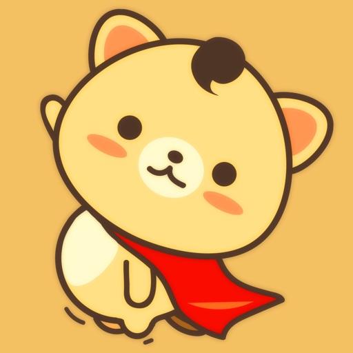Peanut Dog Collage - Christmas and New Year Emoji icon