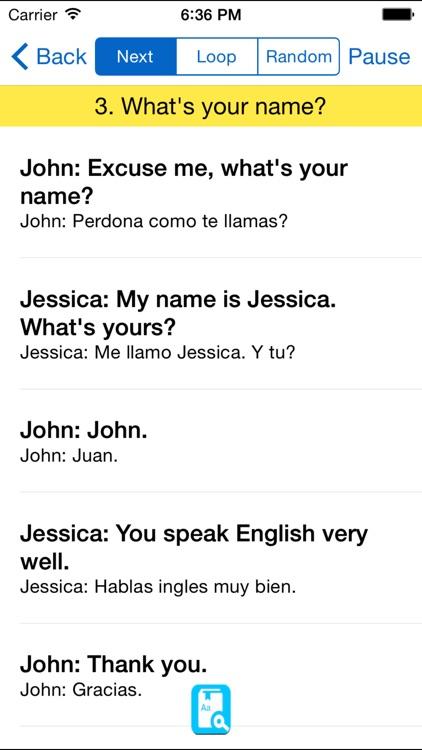 English Study For Spanish - Aprendiendo ingles screenshot-4