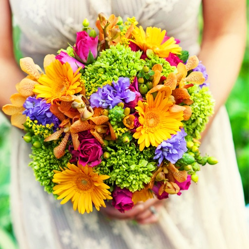 120 Wedding Flower List