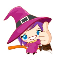 Little Witch - Cute witch stickers
