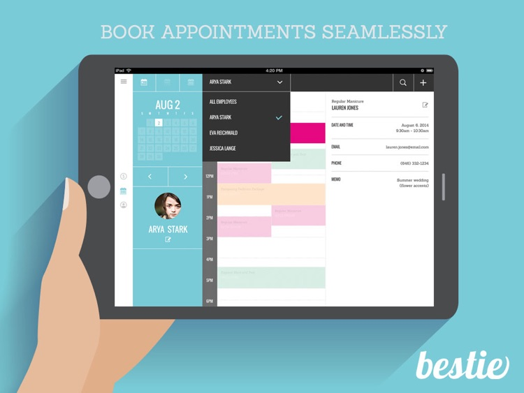 Bestie - Pet Grooming Scheduler/POS screenshot-0