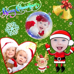Christmas Photo Collage HD