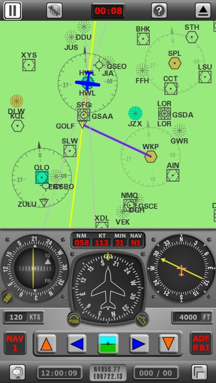 Radio Navigation Simulator USA screenshot-4