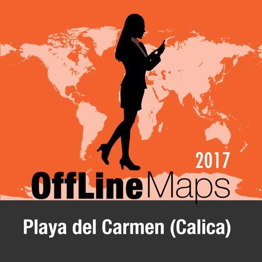 Playa del Carmen (Calica) mapa offline y guía de