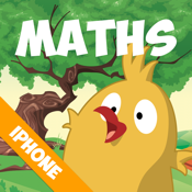 Maths with Springbird (Fun learning for 4 to 8 year old children) icon