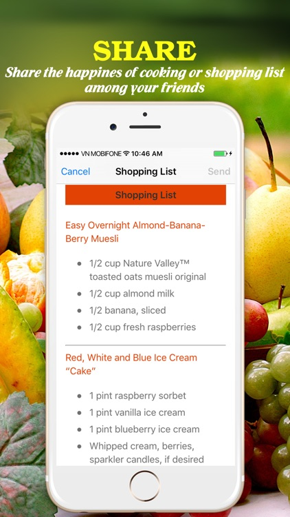 Yummy Fruit Recipes ~ Best of delicious fruit recipes screenshot-4