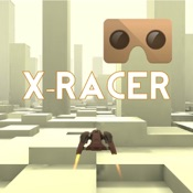 VR XRacer: virtual reality space racing vr games